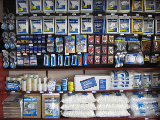 Products available at Valley Self Storage