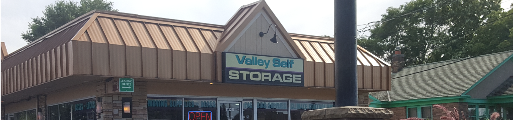 Need Storage? We have a Variety of Sizes!